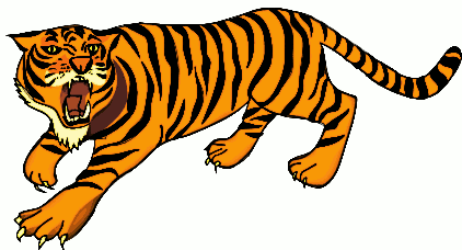 Free Bengal Tiger Clipart