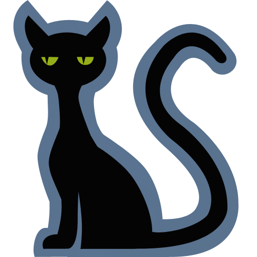 Free Black Cat Clipart