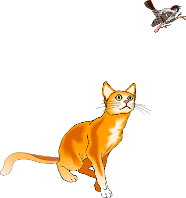 Free Cats Playing Clipart