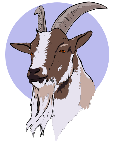 Free Billy Goat Clipart