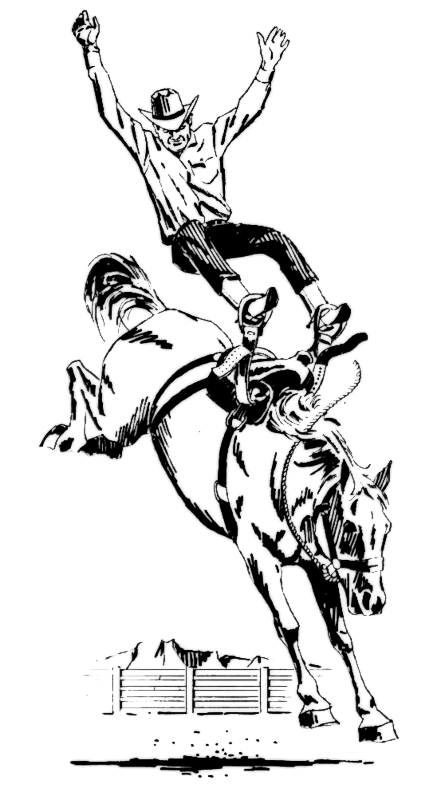 Free Rodeo Horse Clipart