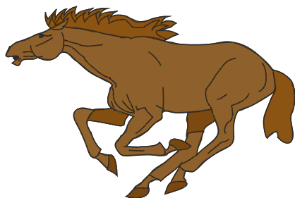 Free Brown Horse Clipart