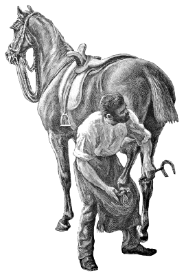 Free Horse Farrier Clipart