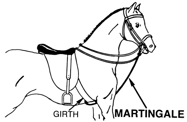 Free Horse Martingale Clipart