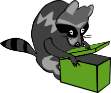 Free Raccoon Clipart