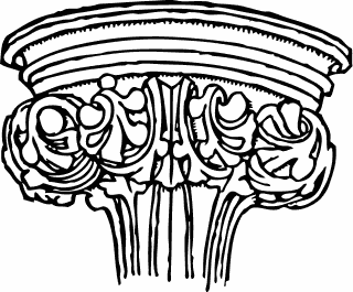 Free Architectural Capital Clipart