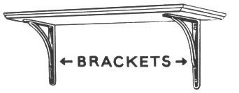 Free Architectural Bracket Clipart