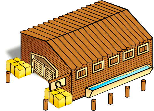 Free Rural Building Clipart