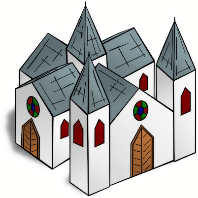 Free Cathedral Clipart