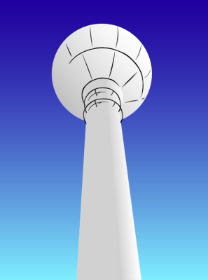 Free Watertower Clipart