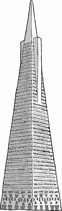 Free Famous US Buildings Clipart