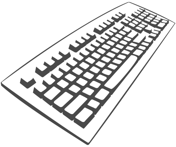 Free Keyboard Clipart