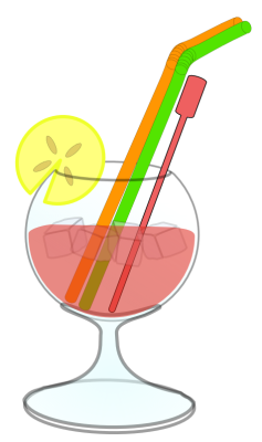 Free Assorted Alcohol Clipart