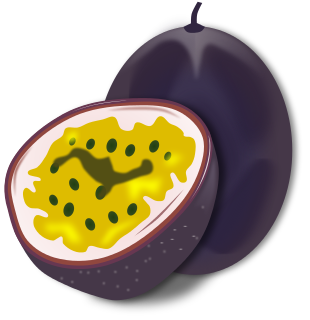 Free Passion Fruit Clipart