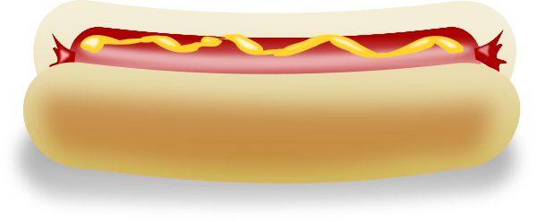 Free Hot Dog Clipart