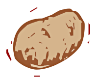 Free Potato Clipart
