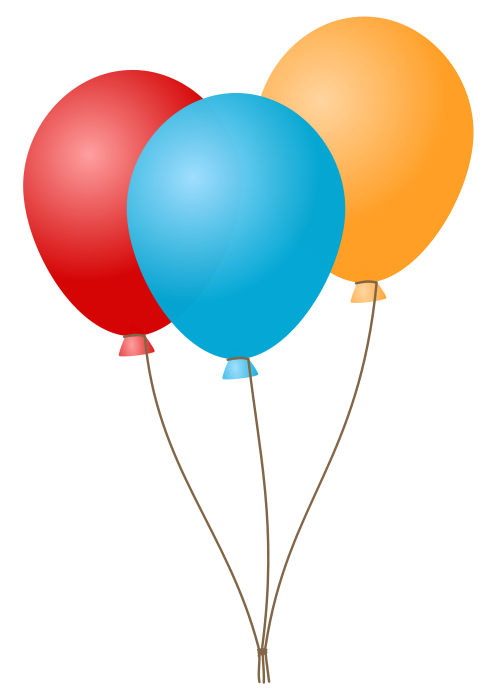 Free Birthday Balloon Clipart