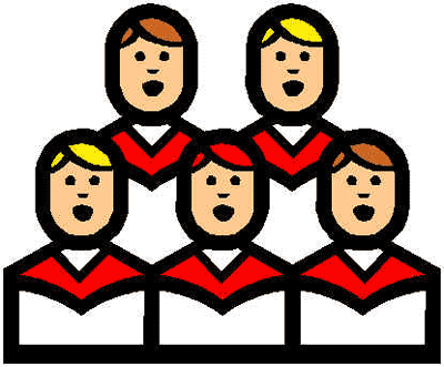 Free Christmas Carolers Clipart