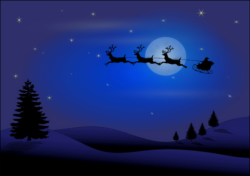 Christmas Scenes Images.Free Christmas Scenes Clipart Clip Art Image 28 Of 65