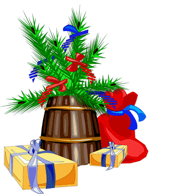 Free Christmas Bows Clipart