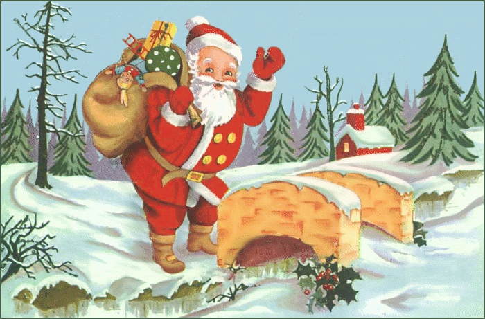 Free Christmas Present Clipart - Clip