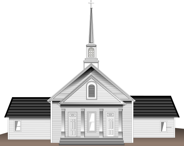 Free Easter Church Clipart