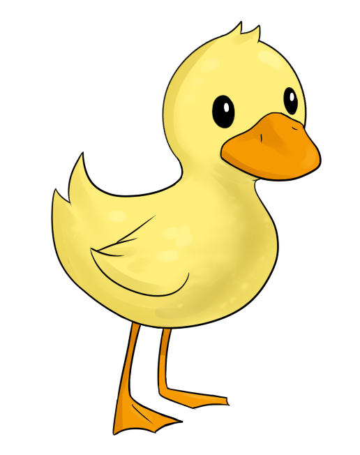 Free Easter Duck Clipart