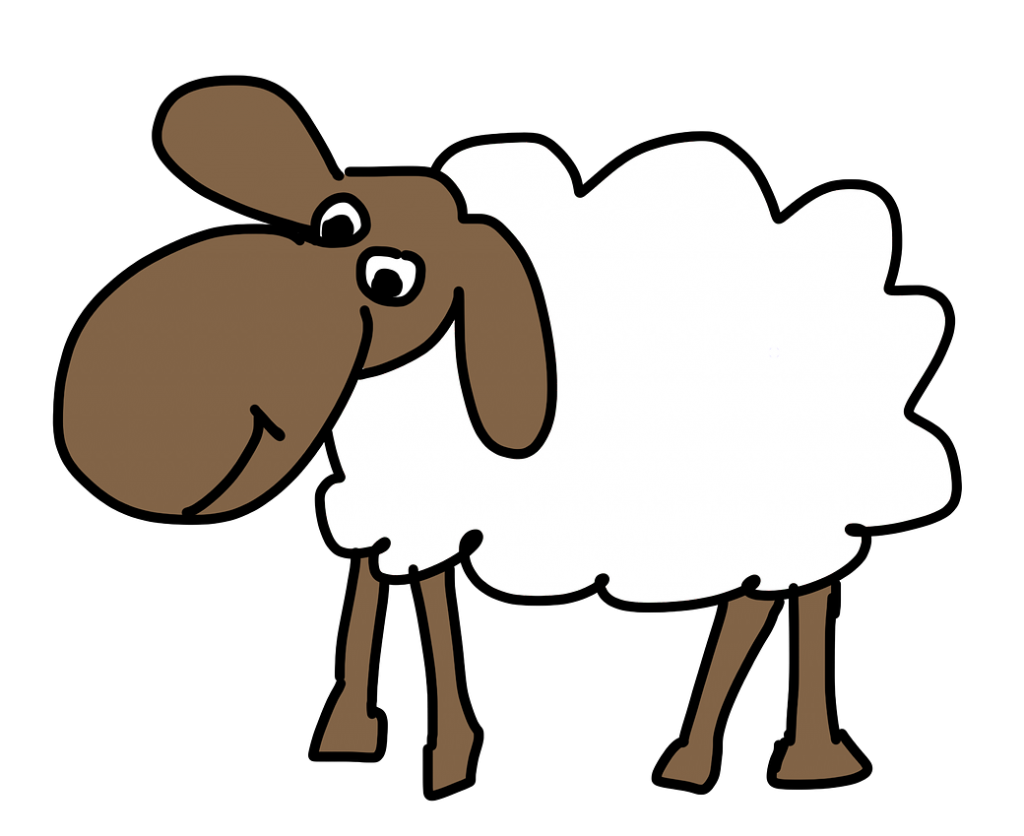 free easter sheep clipart clip art image 6 of 15 rh clipartden com free clipart sheep lambs free sheep clip art images