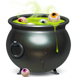 Free Witches Cauldron Clipart