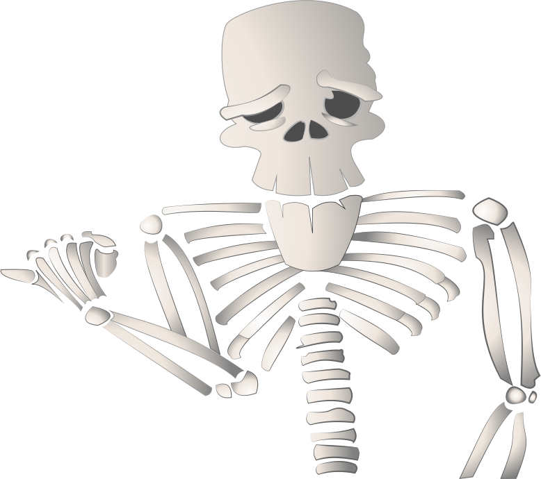 Free Skeleton Clipart