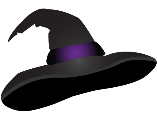 Free Witches Hat Clipart