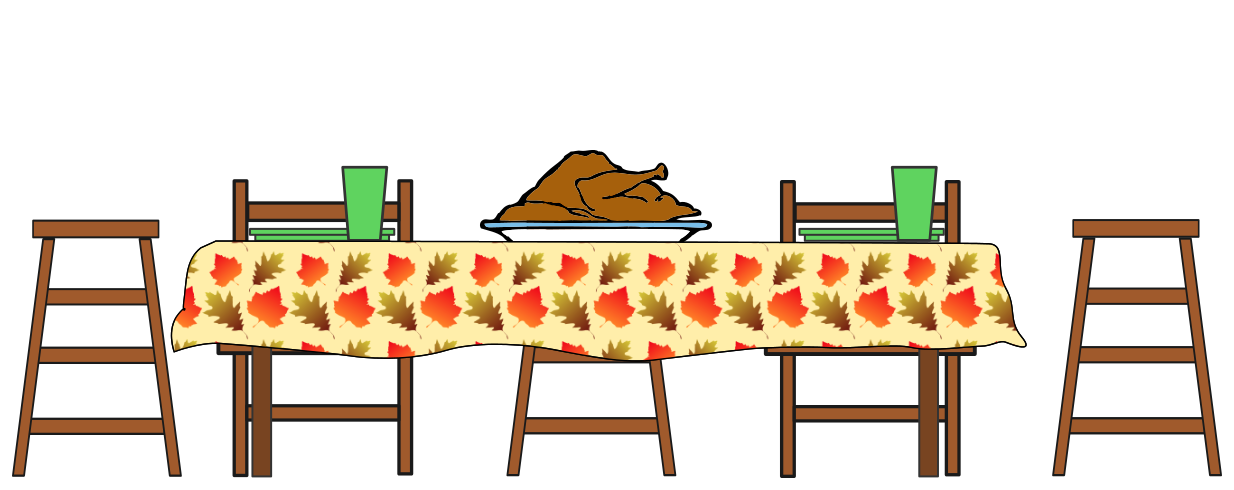 Free Turkey Dinner Clipart