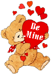 Free Valentine Bears Clipart