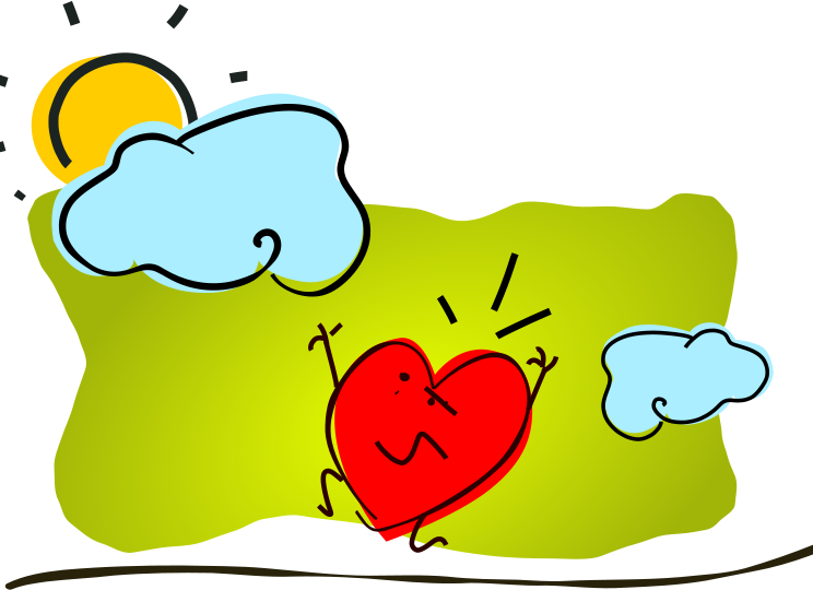 Free Broken Hearts Clipart