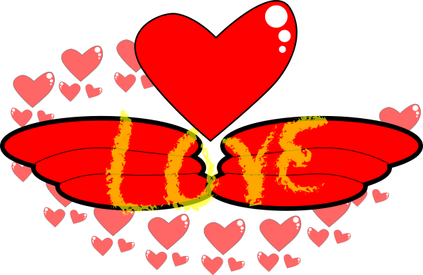 Free Valentine Hearts Clipart