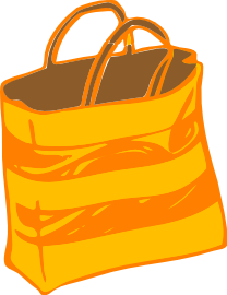 Free Shopping Bag Clipart, 1 page of free to use images
